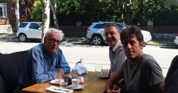TIM Hooper, inventor of TIMS meeting Alfred and Carlo